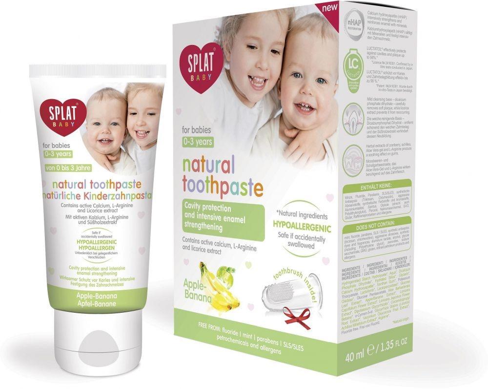 SPLAT Baby 0-3 Toothpaste(